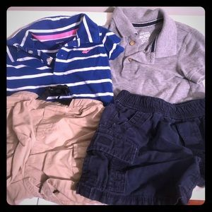 2 polo outfit sets